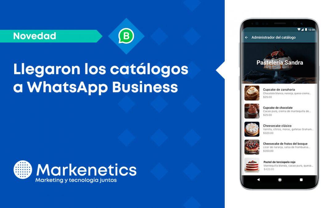 Llegaron los catálogos de WhatsApp Business